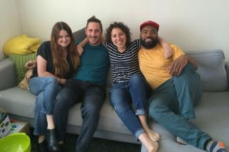 MikMak is run by a small team of agency, media and commerce folks. From the left: Emily Painter, Eric Ornstein, Rachel Tipograph, and Rashid Zakat