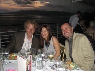 Crispin's Andrew Keller, Tiffany Kosel and Matt Bonin