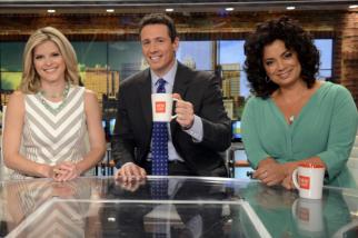 Kate Bolduan, Chris Cuomo and Michaela Pereira on CNN's 'New Day'