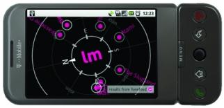 Last Minute Labs' NRU compass.