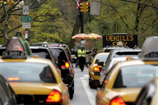 Hurricane Sandy's havoc on the New York City subway system caused traffic gridlock on the days after the storm.