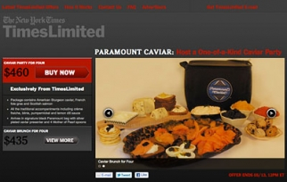 New York Times' Groupon Clone: More Caviar Than Bikini Wax