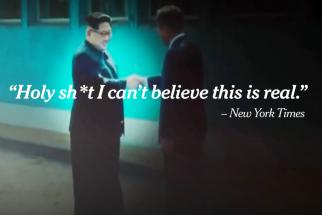 Watch: NYT, Colbert made amazing remakes of Trump's Kim Jong-un fake movie trailer