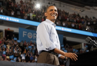 Four more years for Barack Obama.