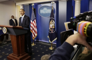 President Obama told reporters