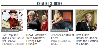 Related stories served up by Outbrain for The Daily Beast.