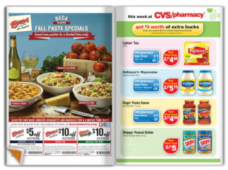The RedPlum coupon book from Valassis