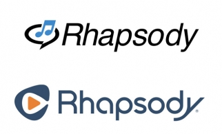 Rhapsody before (top) and after