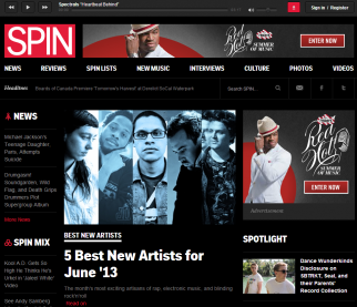 Jem Aswad is Spin's third top editor since its acquisition by BuzzMedia last summer.