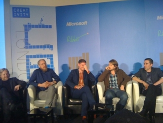 The Swedes discuss reasons behind their digital proclivity. Photo taken and tweeted by Maria Popova of Brainpickings.org