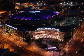 The US Airways Center, where the NBA's Phoenix Suns play.