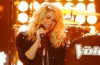 Shakira and all her hair return to The Voice in February, with Clear.