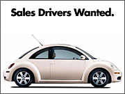 Sales Drivers Wanted: VW Takes Marketing U-Turn