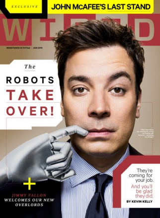 The January issue of Wired