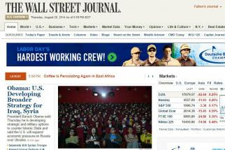 Brad Westbrook, chief digital sales officer at The Wall Street Journal, is leaving the company.