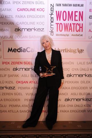 Women to Watch Turkey Lifetime Achievement Winner Ajda Pekkan