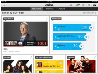 Zeebox calls itself a sidekick to traditional TV.