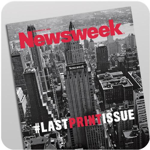 Newsweek Ends In Print
