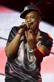 Jay-Z performs at the Made In America music festival.