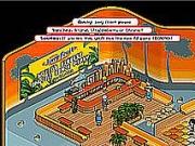 Juicy Fruit Beach Cafe at Habbo Hotel