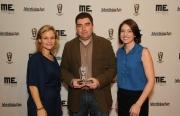 GetGlue Founder/CEO Alex Iskold with Ad Age VP/Publisher Allison Arden