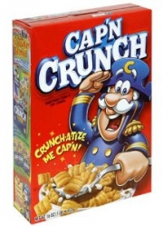 Cap'n Crunch is here to stay, says Quaker.