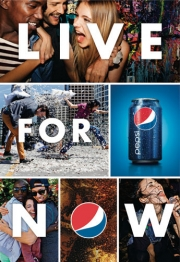Pepsi 'Live for Now' campaign