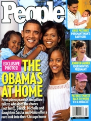 The Obamas on the cover of People magazine.