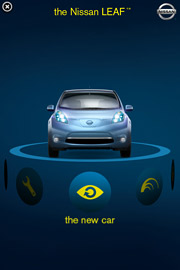 Nissan Leaf was a first mover on Apple's iAd.