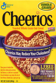 Cheerios has since removed the cholesterol claim from is packaging.