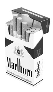 If proposed legislation passes, brands like Marlboro will be forbidden from using color in certain advertisements.