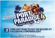 Bud Light Port Paradise