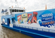Nestle's floating supermarket
