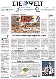 German paper Die Welt is selling a paid app.
