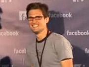 Sam Lessin at Facebook's f8 event.