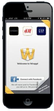 Gift app Wrapp