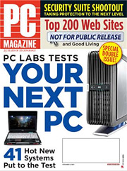 PC Magazine's November issue, seen here, will soon be a relic of earlier times; the January edition will be the last printed.