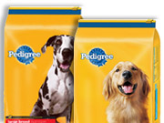 Sales of Pedigree dry dog food lag behind Purina and private-label brands, but the brand's wet dog food is the champion of the category.