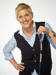 HERE COMES THE JUDGE: Ellen DeGeneres will take her seat at the 'American Idol' table.