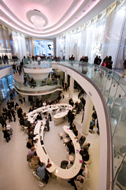'A cultural leap': Westfield London's upscale offerings hope to persuade.