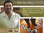 Meet Mike: Planners found the star of their commercial while he was shopping for supplies to build his