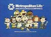STILL GOING STRONG: The Peanuts Met Life campaign began in the mid-'80s.