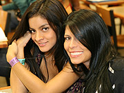 Latin beauties: The contestants will compete in branded challenges.