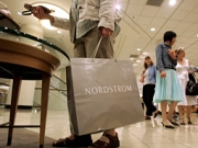 Nordstrom reported a 68% dive in fourth-quarter profits, while sales at stores open at least a year dropped 13%.
