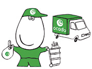 Group M's report also revealed that purchases at sites such as online grocer Ocado rose 34% in 2006.