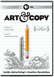 Ms. Robinson was featured in the film 'Art & Copy.'