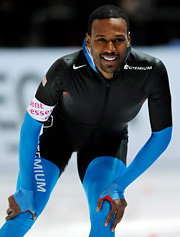 Speedskater Shani Davis has had some controversy surrounding him, but his four events this year hold potential for sponsorships.