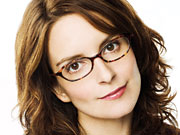 '30 Rock' creator Tina Fey has been seen on the picket lines outside Rockefeller Center.