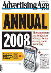 Annual 2008 shows who runs advertising, media and agencies
