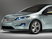 GM has been placing online-display ads touting its investment in alternative fuels, such as the Chevrolet Volt, in sites like WSJ.com and Yahoo Finance.